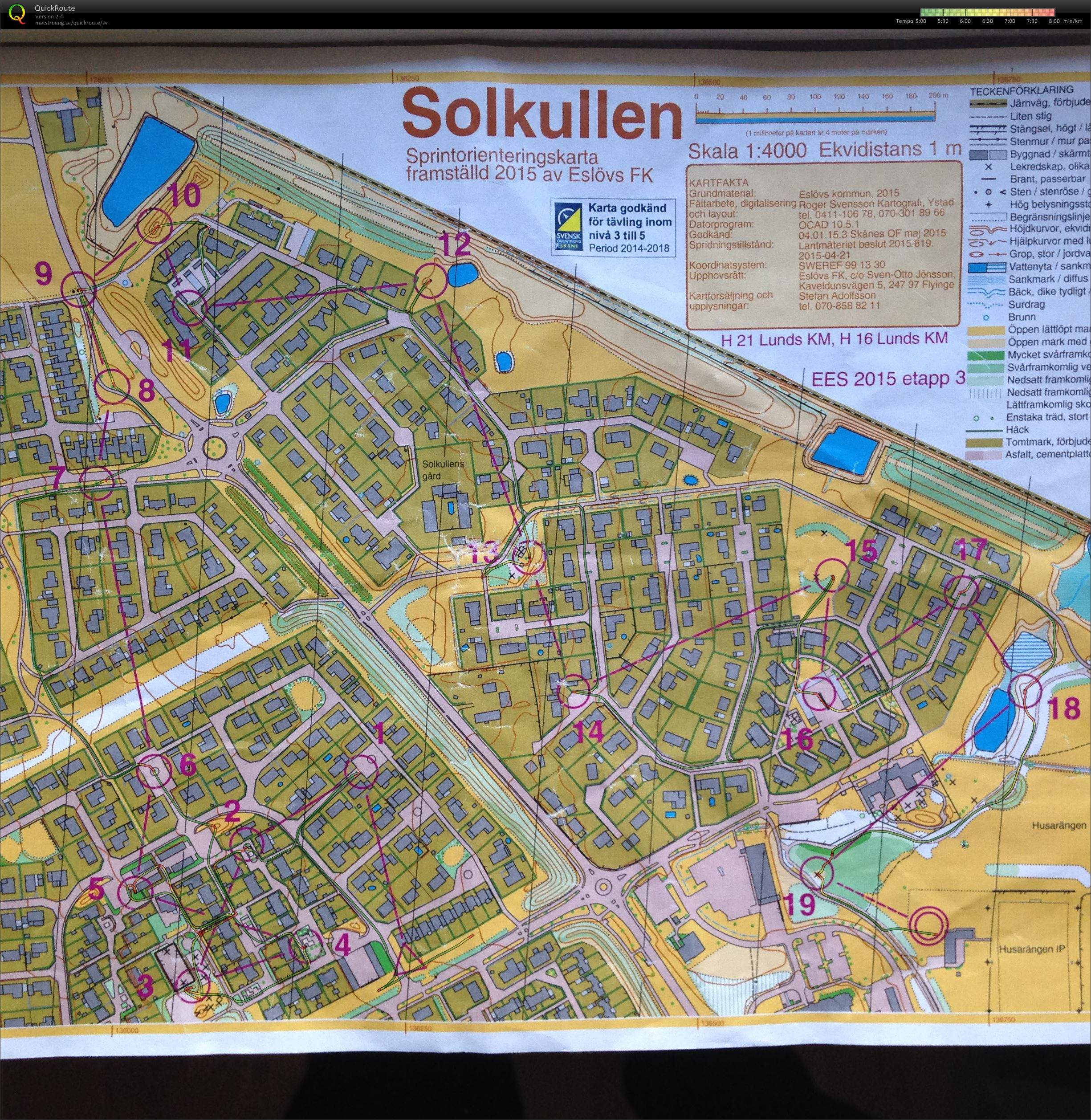 EES E3 & Lunds OK KM sprint (2015-05-26)